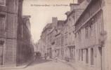 SAINT VALERY EN CAUX.La Rue St Léger. - Saint Valery En Caux
