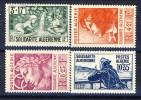 Algeria 1946 Pro Opere Di Solidarietà Serie N. 249-252 **MNH Catalogo € 14 - Ungebraucht