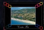P3898 COSTA REI - Veduta Aerea, Aerial View, Vue Aerienne + ANNULLO 1994 CASTIADAS, CAGLIARI - Italië