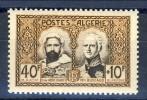 Algeria 1950 Monumento Ad Abd El-Kader N. 285 Fr. 40+10 **MNH Catalogo € 7 - Ungebraucht
