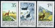 Liechtenstein - Michel 907 / 909 - ** Postfrisch (C) - Jagdwesen I - Liechtenstein