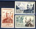 Algeria 1952 Pro Croce Rossa Serie N. 300-301 **MNH Catalogo € 7 - Unused Stamps