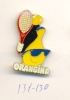 131-130. Pin Tenis Orangina - Tenis