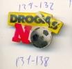 131-138. Pin Droga No. Futbol - Fútbol