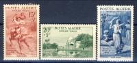Algeria 1957 Pro Opere Sociali Esercito Serie N. 346-348   **MNH Catalogo € 24,50 - Unused Stamps