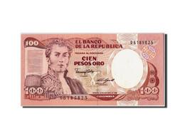 Colombie, 100 Pesos Oro, 1985, KM:426b, 1985-10-12, NEUF - Colombie