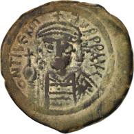 Maurice Tiberius 582-602, Follis, Non Applicable, Constantinople, TTB, Cuivre... - Byzantines