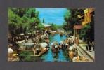 Mexico City - Mexique - Xochimilco Lake Kanal Fluss Boote - Mexique