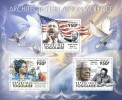 TOGO 2011 - Nonviolence, M. L. King. Official Issue - Martin Luther King