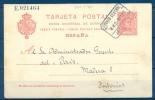 1907 , MADRID , E.P. 47, CORREO  INTERIOR , MAT. CORREO CENTRAL / 8M2 - MAR 07 / INTERIOR. - 1850-1931