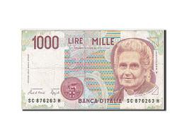 Italie, 1000 Lire, 1990-1994, KM:114a, 1990, TB - [ 2] 1946-… : République