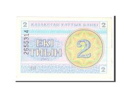 Kazakhstan, 2 Tyin, 1993, KM:2b, Undated, TTB - Kazachstan