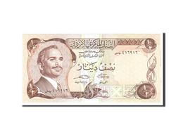Jordan, 1/2 Dinar, 1975, KM:17e, Undated, NEUF - Jordanie
