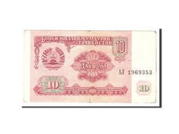 Tajikistan, 10 Rubles, 1994, KM:3a, Undated, TB - Tadjikistan