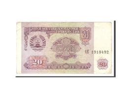 Tajikistan, 20 Rubles, 1994, KM:4a, Undated, TB - Tadjikistan