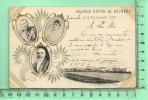 BETHENY: Grande Revue Sept 1901, Alliance Franco-Russe, Tsar Nicolas II, Alexandra Et Président Emile Loubet - Bétheny