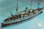 Romanian Marine Museum Model Elisabeta Maritime Warship Cruiser - Guerre