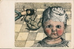 Art Dolls Poupee Fantaisie Postard 2scans - Contemporary (from 1950)