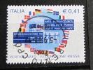 ITALIA USATI 2002 - VERTICE NATO FEDERAZIONE RUSSA - SASSONE 2626 - RIF. G 2138 - LUSSO - 6. 1946-.. Repubblica