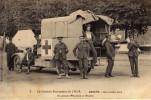 Croix Rouge Santé Militaria Sécurité Civile...sauveteurs Médecine Brancardiers Secours..lot De 3 Belles CPA Sur Ce Théme - Croix-Rouge