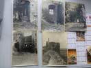 35 Environs De PAIMPONT ?  Lot De 5 Photos Vers 1920, Dont CHATEAU Facile à Identifier (Bretagne) ; Ref 108 PH 12 - Old (before 1900)