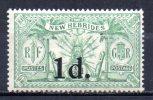 5/ Nouvelles Hebrides :  N° 77 Neuf X   , Cote : 6,00 € , Disperse Belle Collection ! - Unused Stamps