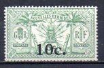 5/ Nouvelles Hebrides :  N° 73 Neuf X   , Cote : 3,30 € , Disperse Belle Collection ! - Unused Stamps