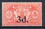 5/ Nouvelles Hebrides :  N° 78 Neuf X   , Cote : 9,00 € , Disperse Belle Collection ! - Unused Stamps