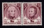 Australia 1953 Tasmania Pair MNH - 1952-65 Elizabeth II : Pre-Decimals
