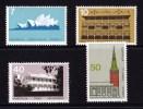 Australia 1975 Architecture Set Of 4 MNH - 1966-79 Elizabeth II