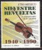 1990 México Compositor Silvestre Revueltas/  Mexican  Comositor 50th Anniv Of His Death / VIOLIN SHEET MUSIC Seal MHN - Mexico
