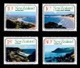 New Zealand 1977 Coast - Beaches Set Of 4 Mint No Gum - See Notes - New Zealand