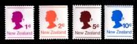 New Zealand 1978 Queen Elizabeth Set Of 4 Mint No Gum - New Zealand