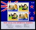 New Zealand 1992 Sporting Heroes Minisheet MNH - New Zealand