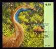 New Zealand 1996 Giant Moa Bird Minisheet MNH - New Zealand