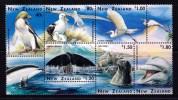 New Zealand 1996 Birds & Marine Life Minisheet MNH - New Zealand