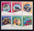 New Zealand 1997 Christmas Set As Block Of 6 MNH - New Zealand