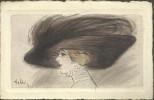 HELLI (Louis Icart) - Femme Et Chapeau - Helli