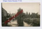 ORIGNY SAINTE BENOITE-!?-Carte Photo Allemande-Guerre14-18-1 WK-FRANCE-02- - Unclassified