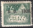 Poland Eastern Silesia 1920 Plebiscyte  - MLH(*) - Mit Falz - 1919-1939 Republik