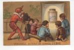 Rare Chromo Liebig - Série Enfants S 75 - La Projection Cinéma -Testu Et Massin - Paris - Fonds Or - Liebig