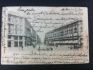 MILANO VIA DANTE POSTAL CIRCULADA A MONTEMARCIANO 1900 - Italia