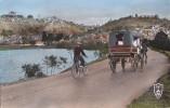 Madagascar -  Antananarivo - Vue Générale - Attelage Calèche De Livraison Délice Sud - Vélo - 1955 - Madagascar