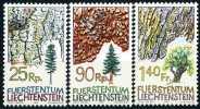 Liechtenstein - Michel 913 / 915 - ** Postfrisch (D) - Baumrinden - Liechtenstein