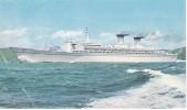 POSTAL DEL BARCO MICHELANGELO E RAFFAELLO (BARCO-SHIP) - Comercio