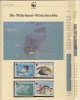 Mauretania 1986  WWF / Mammals 4v ** Mnh With 3 Leaflets With Information About The Issue (W507) - W.W.F.