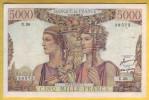 BILLET FRANCAIS - 5000 Francs Terre Et Mer 3.11.1949 SUP - 1871-1952 Frühe Francs Des 20. Jh.