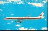 Word Airways -  A DC-8 Super Stretch Intercontinental Jetliner Of World Airways, The World´s Largest Charter Airline
