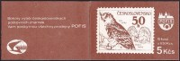 CZECHOSLOVAKIA 1986, Owl - Eule MNH Complete Booklet Of 10 Stamps, Mi. # 2875 - Unused Stamps
