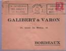 """Lettre Flamme RBV Soissons 3-8 1956 """"sa Cathédrale Ses Abbayes Sa Rivière // Soisseons Ville Franque Modernisée - Poststempel (Briefe)"""